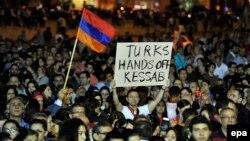 Вірмени всього світу щороку згадують загиблих в Османській імперії співвітчизників