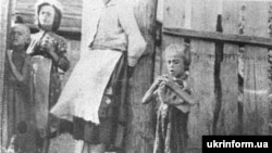 Ukrainian refugees from the 1932-33 famine.