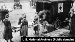 Карантин: Филадельфия и Сент-Луис в разгар «испанки» в 1918 (фотогалерея)