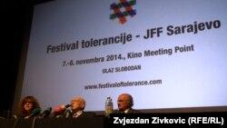 Sa pres-konferencije u Sarajevu, 6. novembar 2014.