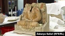 یکی از مجسمه های بودایی در موزیم ملی در کابل