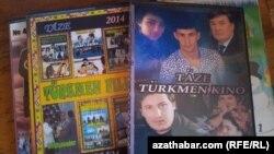 Türkmen kinolarynyň cd-leri