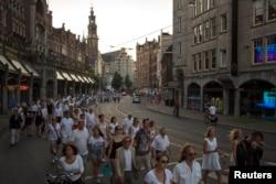 Предыдущий день национального траура в Нидерландах по жертвам авиакатастрофы. 23 июля