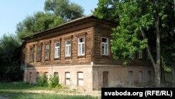 Зьнесены дом на Сожаўскай вуліцы