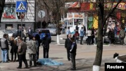 Місце злочину у російському Бєлгороді, 22 квітня 2013 року
