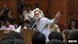 محمد عطریانفر در نخستین جلسه دادگاه بازداشتشدگان حوادث پس از انتخابات در دهم مرداد
