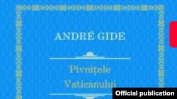 Romania - Carte la pacvhet book cover Andre Gide