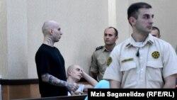 Георгий Сохадзе повторил то, о чем говорил в ходе судебного процесса: что дело сфальсифицировано, и он непричастен к убийству