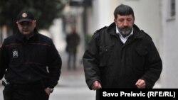 Svjedok Mirko Velimirovic, jedan od ključnih svjedoka Specijalnog tužilaštva dolazi u Viši sud u Podgorici u februaru 2018.