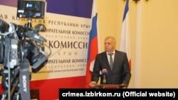 Глава российского Избиркома Крыма Михаил Малышев