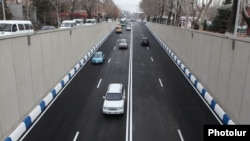 Armenia - A newly constructed road in Yerevan, 11Mar2014.