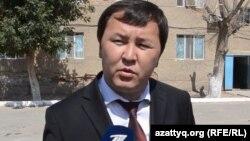Заместитель акима города Кызылорды Косым Ансатбаев. 4 августа 2015 года.