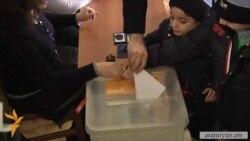 Тигран Саргсян: «Выборы проходят в спокойной обстановке»
