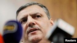 ریاض حجاب، رئیس هیأت عالی مذاکره کنندگان گروه های مخالف حکومت بشار اسد،