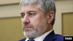 Член Совета Федерации от Чечни Сулейман Геремеев (Архивное фото, 19 июля 2017 г.)