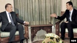 Архивска фотографија: Средба меѓу премиерот на Турција Реџеп Таип Ердоган и сирискиот претседател Башар Ал Асад во Дамаск во 2008 година.
