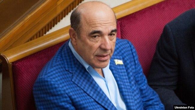 Вадим Рабінович – представник політичної партії «Опозиційна платформа – За життя» разом з Медведчуком