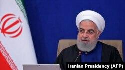 Претседателот на Иран, Хасан Рохани