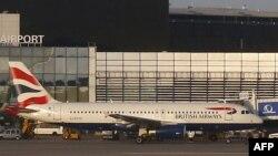 British Airways ұшағы. Көрнекі сурет