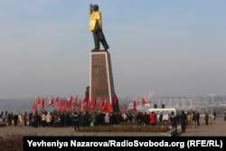 Ленін у Запоріжжі. 7 листопада 2015 року