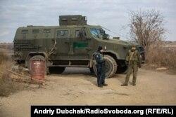 КПВВ «Золоте», точка розведення військ №2, біля Золотого та Катеринівки, Луганська область, 2 листопада 2019 року