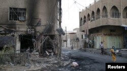 Իրաք - Պայթյունի վայրը Բաղդադի Ամին թաղամասում, 22-ը սեպտեմբերի, 2015թ․