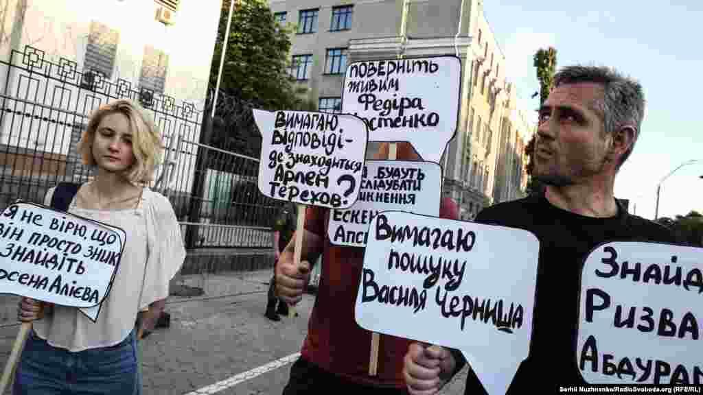 КрымSOS настаивают на причастности к похищениям и исчезновениям людей в Крымуроссийских силовиков и властей.