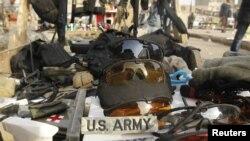 Rasprodaja stvari američkih vojnika u Bagdadu, decembar 2011.