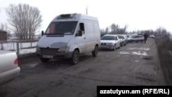 Armenia-Protest in Shirak region,10Feb,2021