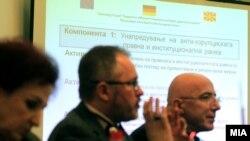 Презентација на резултати од проект на Државната комисија за спречување на корупцијата.
