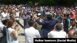 Концерт кыргызско-узбекской дружбы в Оше, 13 июня 2017 года.
