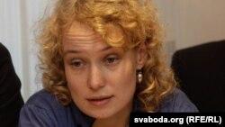 Frantsiyadagi FDIH tashkilotining Markaziy Osiyo bo'yicha rahbari Sasha Kulaeva.