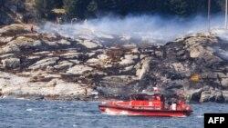 Norveška obala u blizini Bergena 29. april 2016.