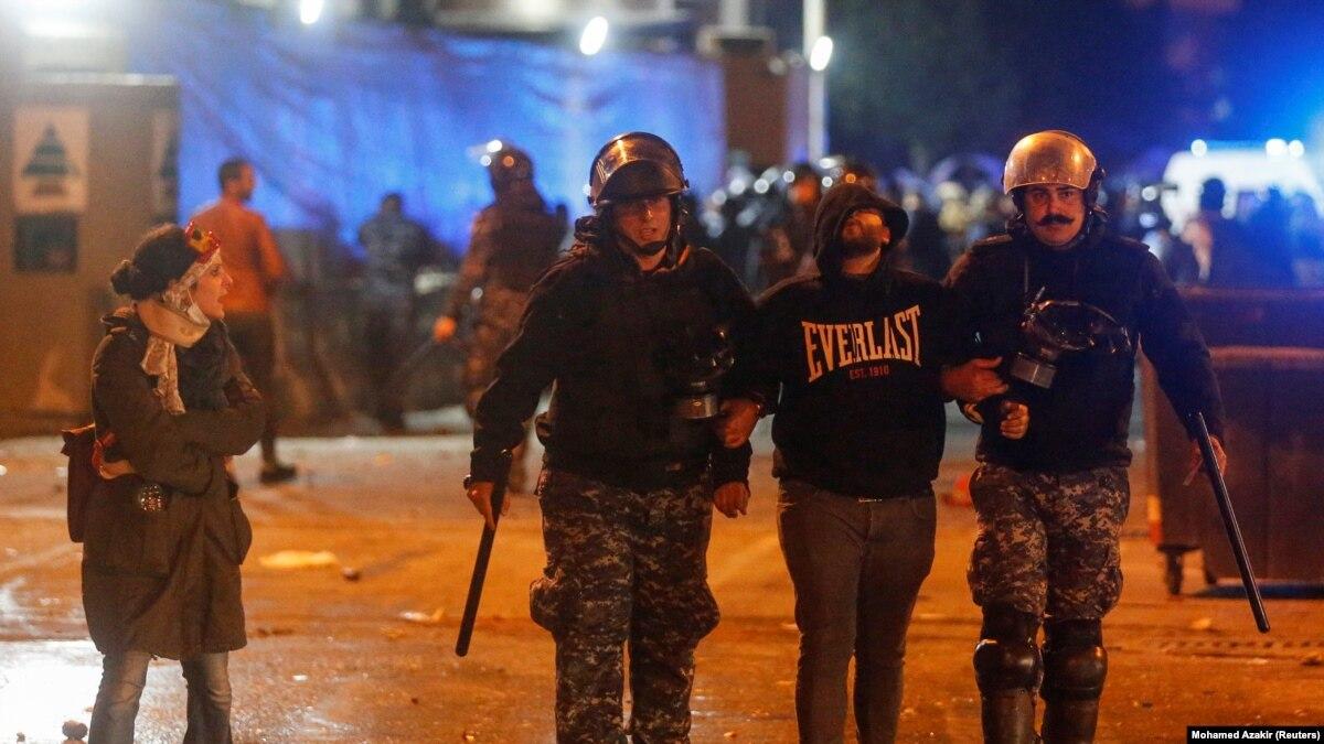 Протесты в Бейруте: около 450 раненых за два дня