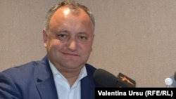 Igor Dodon's Socialist Party is pushing hard to get the new antigay bill passed. (file photo)
