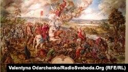 Полотно про перемогу війська Костянтина Острозького під Оршею, 24 серпня 2014 року