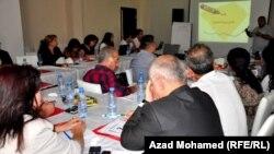 دورة تدريبية في السليمانية عن حملات الدفاع عن حقوق الإنسان