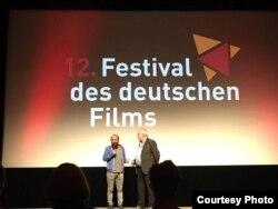 İmam Həsənov Almaniyada film festivalında.