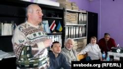 Выступае Васіль Берасьнеў