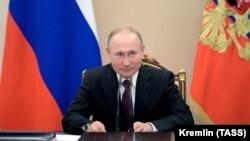 Ресей президенті Владимир Путин