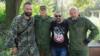Словак Маріо Рейтман, який воює на боці бойовиків (крайній справа)