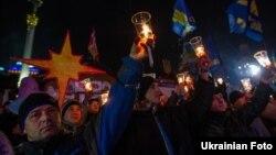Каляды на кіеўскім Майдане