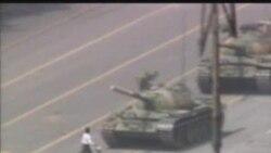 Tanklarla dağıdılan 100 000 nəfərlik mitinq