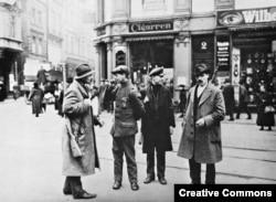 Леви милиции в провинция Рур в Германия през пролетта на 1920 година.