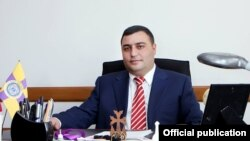 Мэр Эчмиадзина Карен Григорян (архив)
