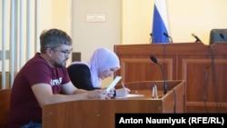 Наріман Мемедемінов у суді Бахчисарая, архівне фото