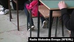 """Училиште """"Никола Карев"""" од селото Саждево, општина Долнени"""