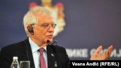 European Union (EU) High Representative for Foreign Affairs and Security Policy Josep Borrell, January 31, 2020.