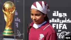 بار دیگر برگزاری جام جهانی در قطر تحتالشعاع اتهامیهایی تازه قرار گرفته است (در تصویر جام طلایی جهانی در دوحه)