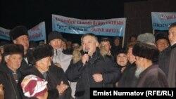 Акматбек Келдибеков Оштогу тарапкерлери менен, 13-декабрь, 2011-жыл